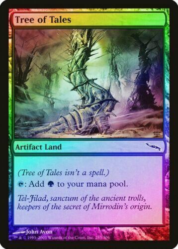 Tree of Tales FOIL Mirrodin HEAVILY PLD Artifact Common MAGIC MTG CARD ABUGames