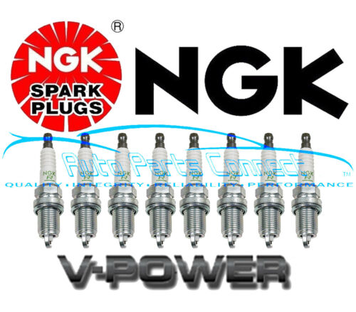 8 NGK V-POWER SPARK PLUGS for BMW 650i 2006-2010 4.8L V8 HIGH QUALITY NEW 4291