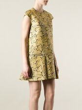 BNWT 100% Auth Stella McCartney Python-Print Dress. 44 RRP £1,260