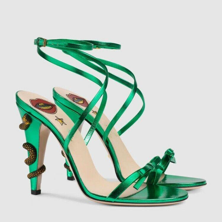 centro commerciale online integrato professionale Lady donna donna donna Party Open Toe Slingback bowtie fashion scarpe high heels dress scarpe  prezzi eccellenti