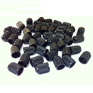 20x-Plastic-Auto-Car-Bike-Motorcycle-Truck-wheel-Tire-Valve-Stem-Caps-Black-P-AP