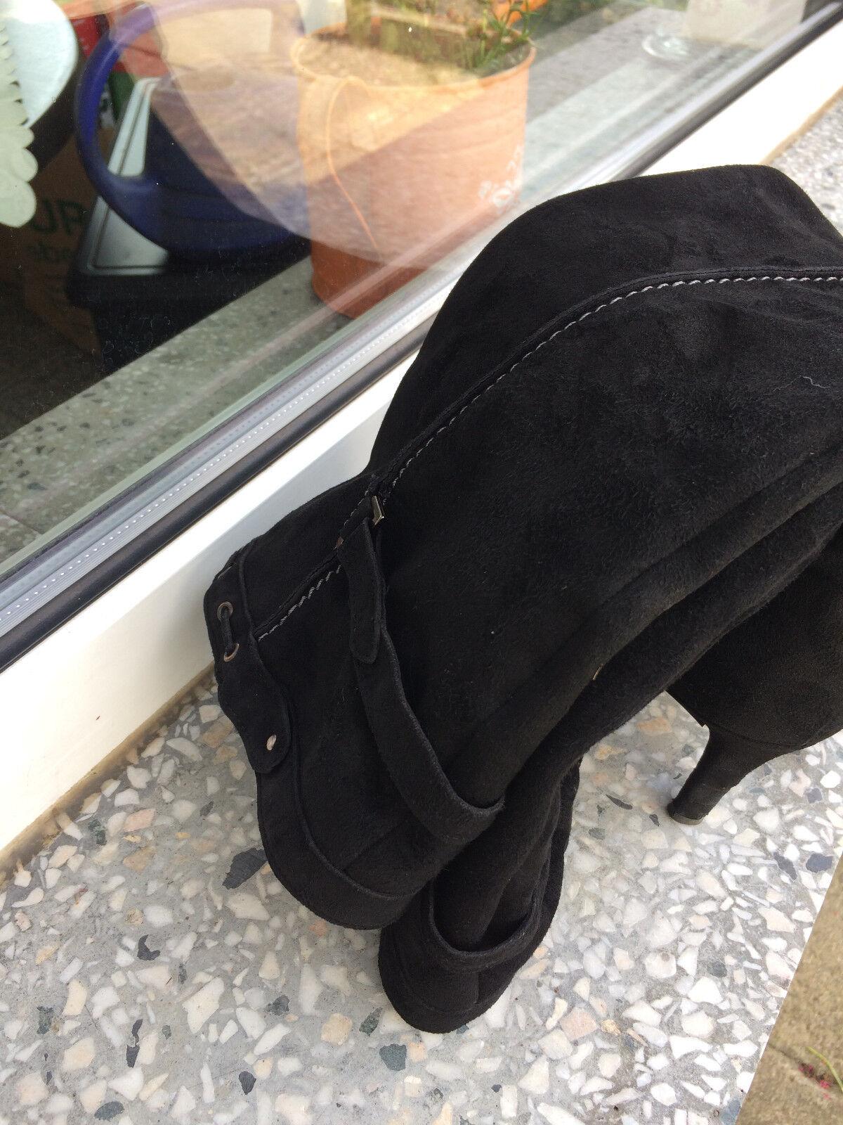 Top Schwarze Pura Lopez Damenstiefel Damenstiefel Damenstiefel ,Gr 7 23bdc9