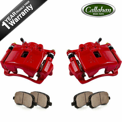 Front Brake Calipers and Ceramic Pads For ACURA RSX HONDA ...
