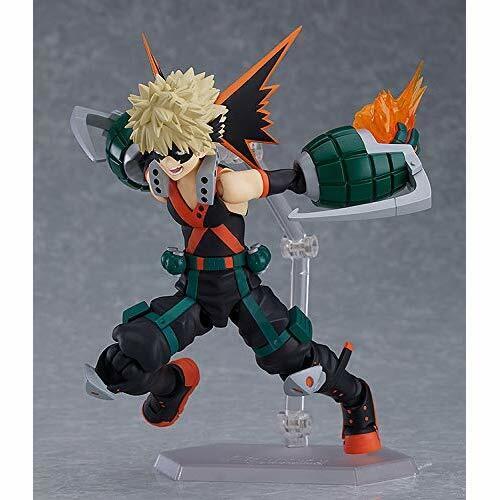 Max Factory figma My Hero Academia Katsuki Bakugo Action Figure w// Tracking NEW