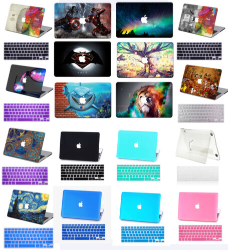 """Rubberized Painted Hard Laptop Case Cover for 2016 Macbook Pro 13/""""15/""""Touch Bar"""