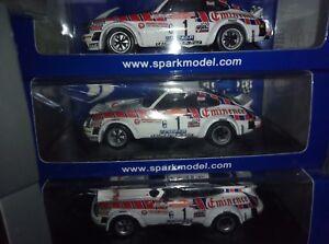 Rare!   1:43 Spark Mad001 Porsche 911 Sc Groupe 4 - W. Rohrl Rally Sanremo 1981