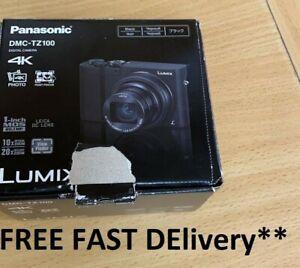Panasonic-Lumix-20-1MP-DMC-TZ100-Digital-Camera-Black-FAST-DELIVERY