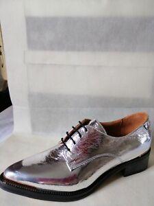 Derby-Cuir-Femme-Chaussures-mocassins-mode-touts-saisons-034-ELLOW-YELLAW-034-Neuves
