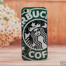 COVER PER IPHONE 5 5S IN PLASTICA RIGIDA DESIGN STARBUCKS COFFEE