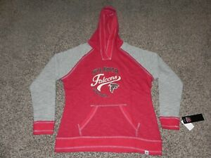 huge discount 983e6 7217c Details about ATLANTA FALCONS PULLOVER HOODIE WOMEN'S LARGE MAJESTIC TEAM  APPAREL NEW WITH TAG