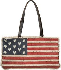 crochet tote bag patriotic tote bag American flag patriotic tote bag American beach tote striped tote bag Crochet beach tote