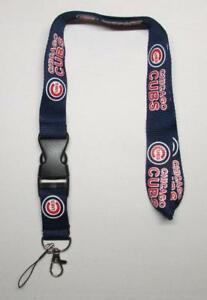 MLB-Chicago-CUBS-Disconnect-Disconnecting-Baseball-LANYARD-ID-Key-Holder-NEW
