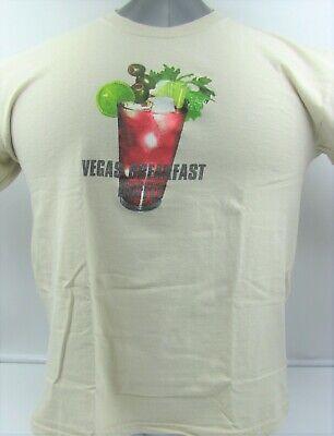 Las Vegas Caesar's Breakfast Buffet T-Shirt, Tan, Men's ...