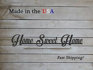 LW1004 Wooden Wood Home Sign Home Sweet Home Decor Wood Art Home Sweet Home