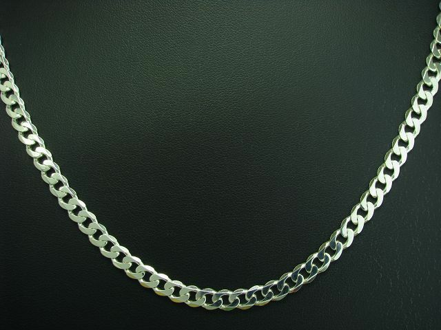 925 STERLING silver PANZER KETTE   ECHTsilver   19,5g   54,5 cm