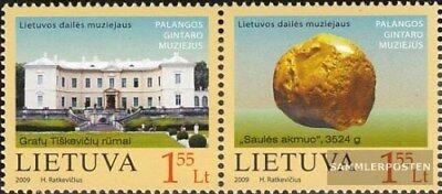 kompl.ausg. Postfrisch 2009 Bernsteinmuseum Besorgt Litauen 1009-1010 Paar