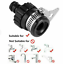 To Garden Mixer Kitchen Adaptor 18mm-22mm RUBBER HOSE PIPE CONNECTOR for Tap