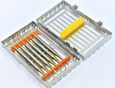 German Dental Composite Filling Instrument Gold Restorative Kit With Cassettes