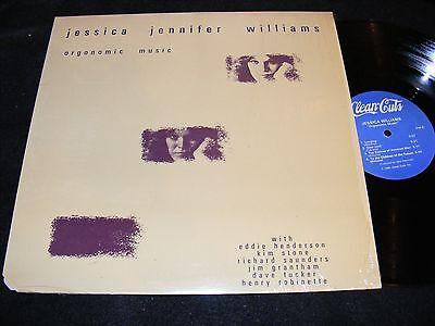 JESSICA JENNIFER WILLIAMS Pianist ORGONOMIC MUSIC LP 1981 Clean Cuts Small Label