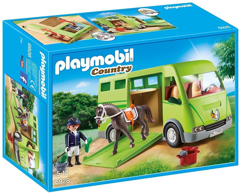 Playmobil Country 6928. Trasporto di Caballo. di 5 a 12 Anni