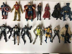 Marvel Legends Mixed Lot of 19 - Venom Hulk Thor Archangel Wolverine Ghost Rider