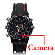 8GB Waterproof Wrist Watch Spy Camera HD 1280*960 Audio DVR DV Hidden Camcorder