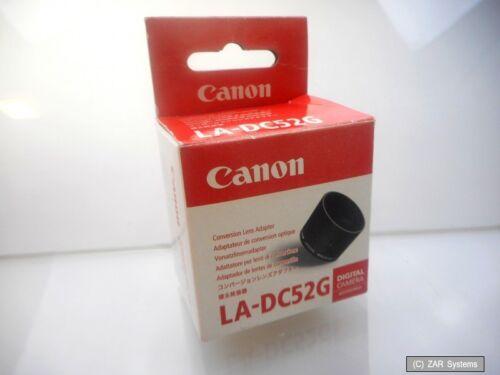 Canon original la-dc52g conversion lens adpapter Hood para a570 is 1908b001aa nuevo