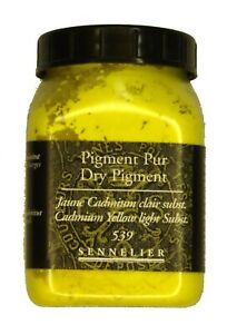 Sennelier-Artist-Quality-Dry-Pigment-Cadmium-Yellow-Light-hue-amp-free-delivery