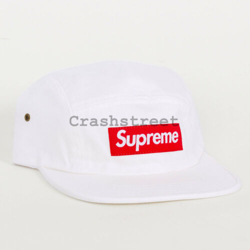 Supreme SS16 Washed Chino Twill Camp Cap Box Logo tee 5-panel classic motion ali