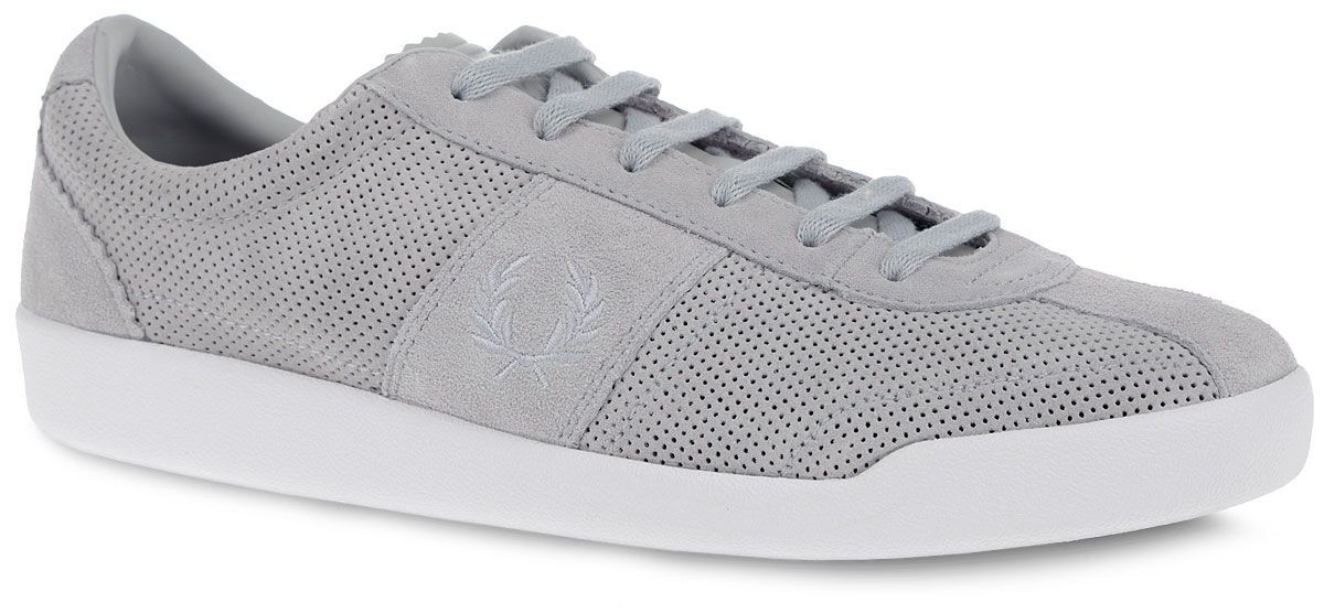 Fred Perry Men's Stockport Unlined Suede Leather Trainers Shoes B8230-432