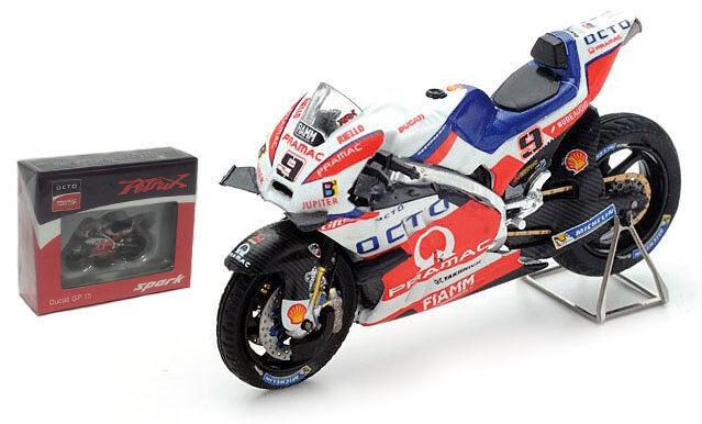 Spark M43018 Ducati GP 15 OCTO Pramac Bruno 2016 - Danilo Petrucci 1 43 Scale