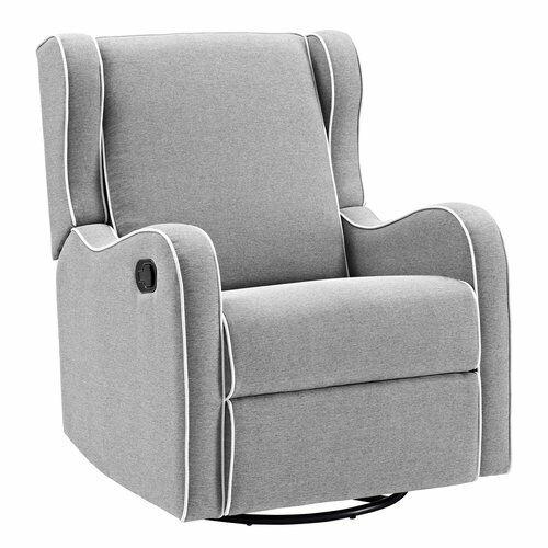 Nursery Swivel Glider Recliner Chair