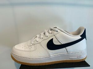 2019 Nike Air Force 1 '07 Low WhiteObsidian Gum CI0057 100