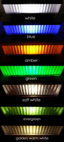 4-PACK 4x4 GARDEN SOLAR WHITE POST DECK CAPS LIGHTS Assorted LED Light Colors