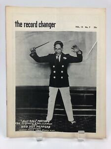 Vintage-July-1955-THE-RECORD-CHANGER-Jazz-Music-Magazine-Jelly-Roll-Morton