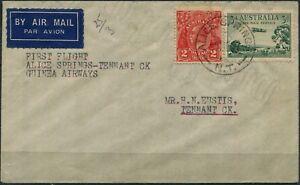 9-Mar-1937-see-AAMC-708a-Alice-Springs-Tennant-Creek-flown-cover