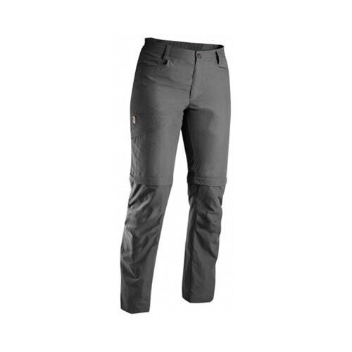 Fjäll Räven Daloa MT Zip-Off Trouser, Women's Trousers, Dark Grey