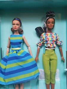 Fashion Royalty Poppy Parker Girl Talk Outfit Blue Shoes New Integrity Doll