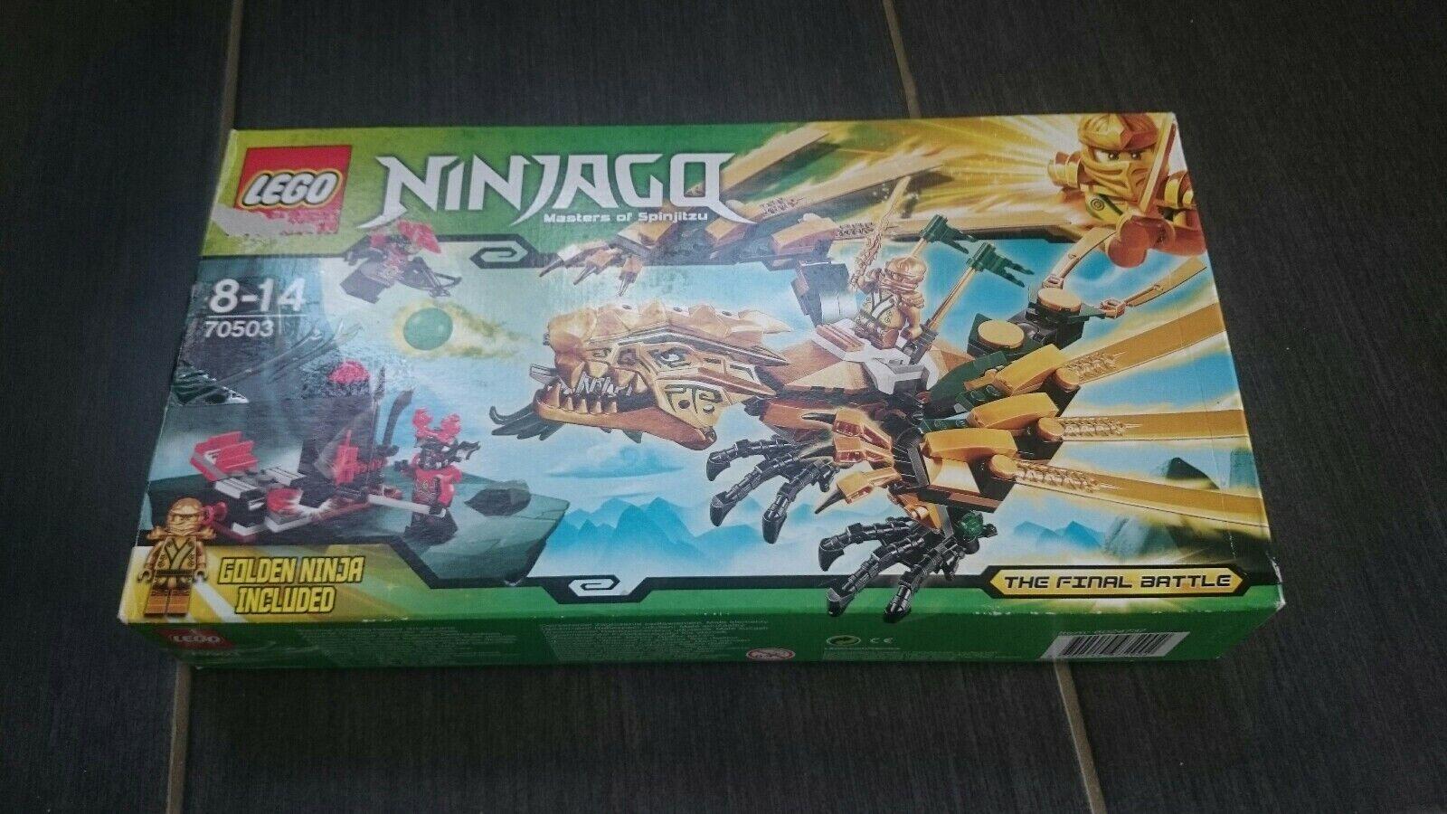 Lego Ninjago 70503 Doré Dragon Masters of Spinjitzu 8-14