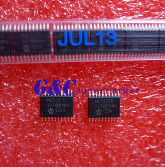 5PCS MCP2515-I/ST IC Microchip CAN CONTROLLER W/SPI 20TSSOP NEW GOOD QUALITY R3