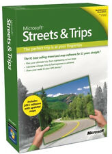 Brand New Factory-Sealed Microsoft Streets & And Trips 2011 U.S. Retail Box