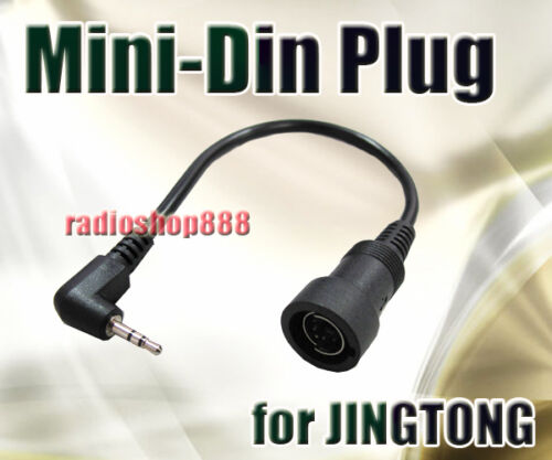 Mini Din Plug for TG-5A KG-6228 TG208 JT208 JT-308 44-J