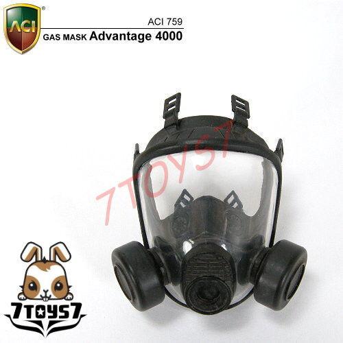 ACI Toys 1//6 Gas Mask/_ A-4000 /_SAS GSG9 GIGN Seal SWAT RAID Division AT069B