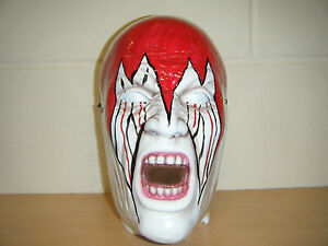 Demolition Smash Wrestling Mask Fancy Dress Up Costume Outfit Wwe
