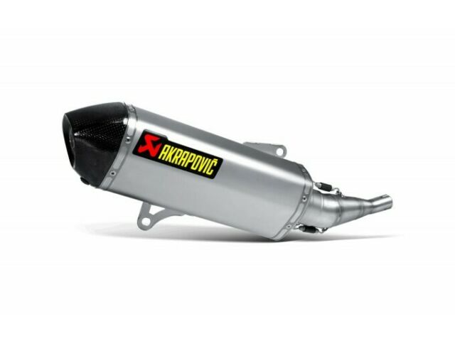 S-Y2SO7-HRSS - Silenciador Akrapovic Slip-On Inox/Carb Yamaha X-MAX/CITY 250