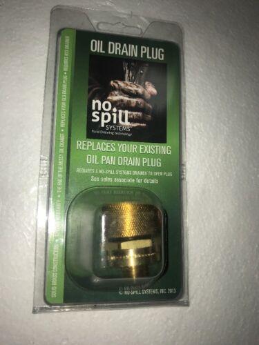 No-Spill Systems Oil Drain Plug 101415003P M24x1.5 mm