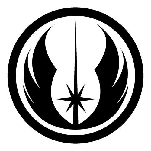 Jedi Rebel Sith Bumper Window Sticker STAR WARS Vinyl Decals Many Logo Types