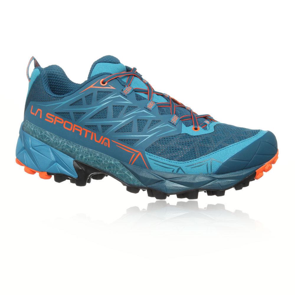 La Sportiva Akyra Mens bluee Trail Running Road Sports shoes Trainers Pumps