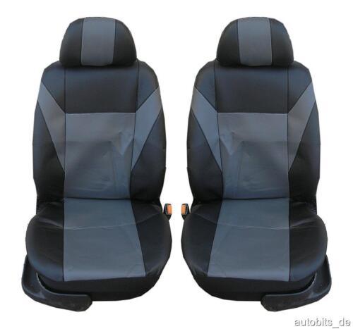 1+1 COPRISEDILI GRIGIO ECOPELLE di alta qualità per SUBARU SUZUKI TOYOTA VOLVO VW