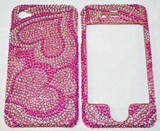 NEW Heart shape Diamond Rhinestone Bling case for Apple Iphone 4 / 4S A10